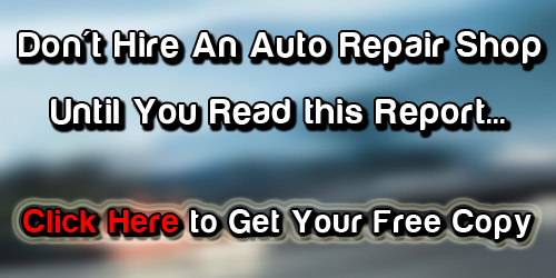 Don't Hire an San Antonio Car Repair Auto Repair Shop Until You Read This